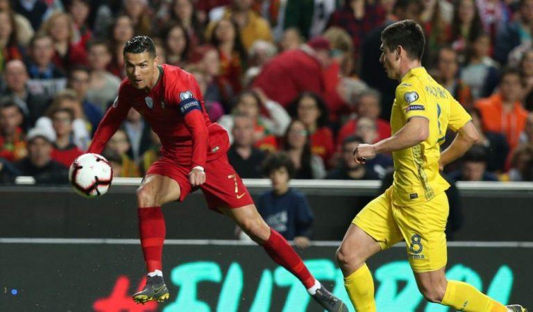 Portugal y Ucrania no lograron hacerse daño de camino a la Euro 2020