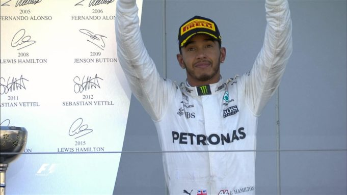Lewis Hamilton y el equipo Mercedes comandan el Gran Premio de Francia