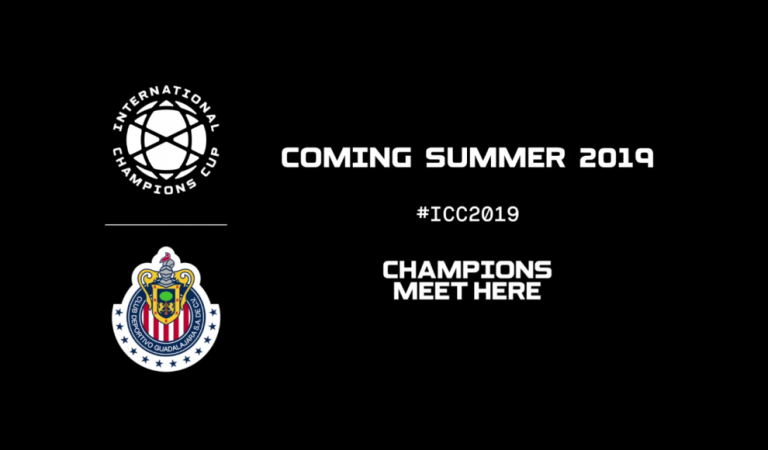 Chivas jugará la International Champions Cup 2019