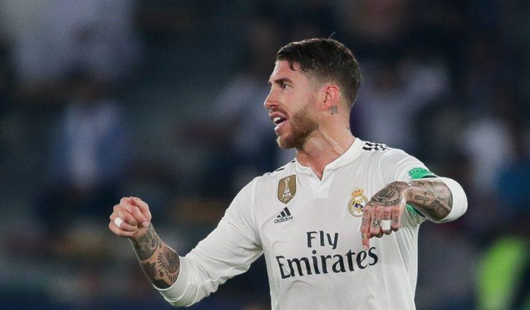 En el aire el futuro de Sergio Ramos con el Madrid