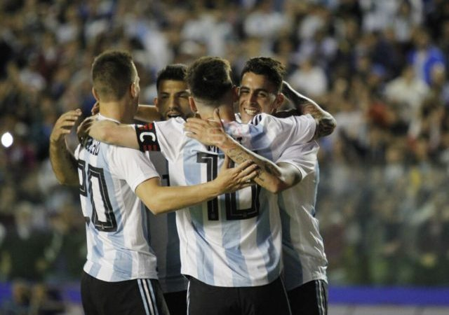 Argentina recató el triunfo en Tánger y Brasil salió victorioso en la Fecha FIFA
