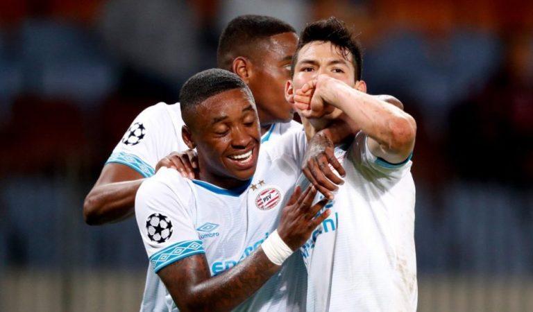 PSV se pone exigente con Lozano