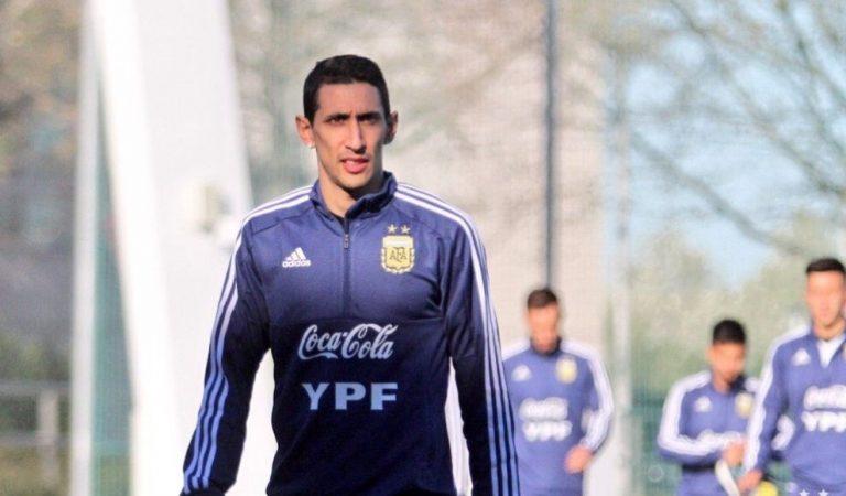Ángel Di María causa baja con la Selección de Argentina