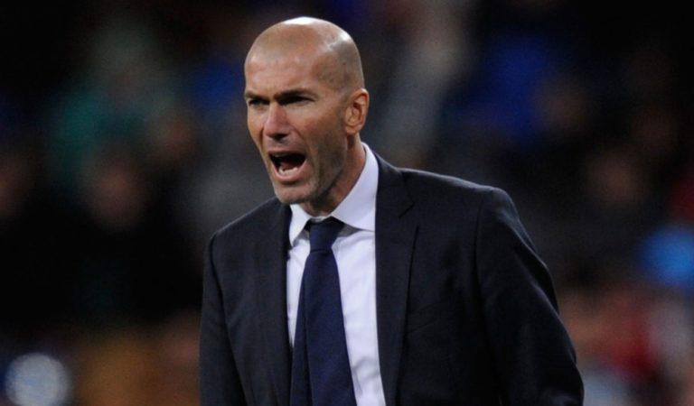 """Zinedine Zidane no se siente """"intocable"""" en el Real Madrid"""