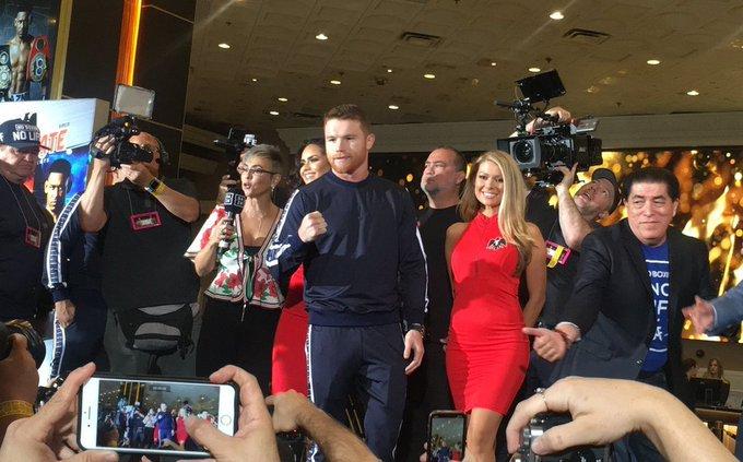 Canelo y Jacobs ya están en Las Vegas