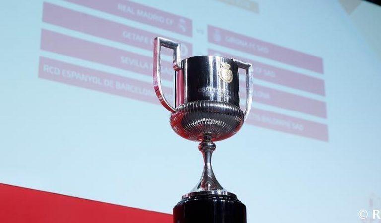 Listos los  enfrentamientos de las semifinales en la Copa del Rey