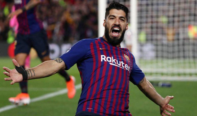 Mal y de malas para Barcelona: Luis Suárez se lesiona