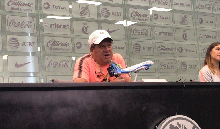 """""""Si no levantas el título, tienes que pensar que es un fracaso"""": Miguel Herrera"""