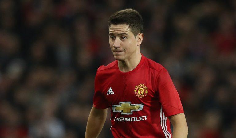 Ander Herrera le dijo adiós al Manchester United