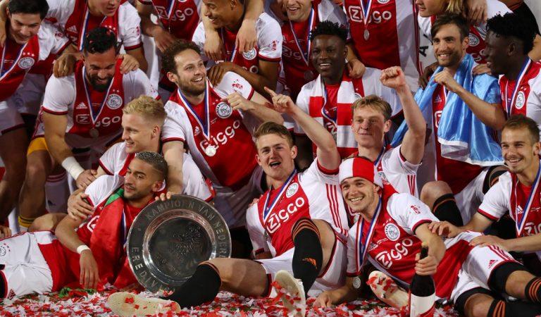 Ajax de Ámsterdam es campeón de la Eredivisie