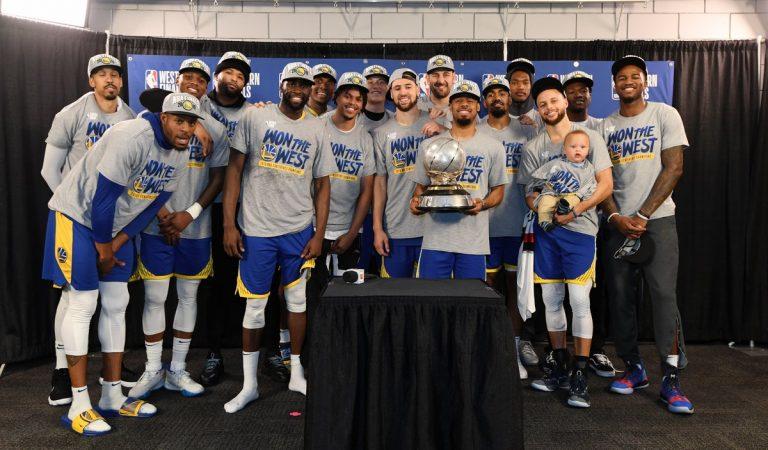 Golden State avanzó a su quinta final consecutiva de la NBA