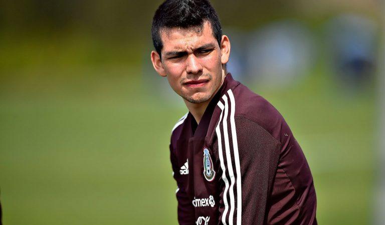 Oficial: Hirving Lozano es baja de la Copa Oro