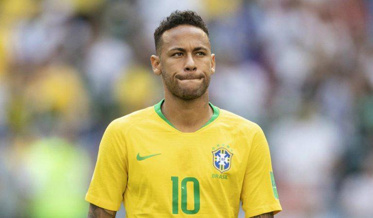 Neymar quedó fuera de la Selección de Brasil