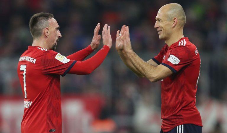 Ribéry y Robben, el adiós de dos grandes figuras en Múnich