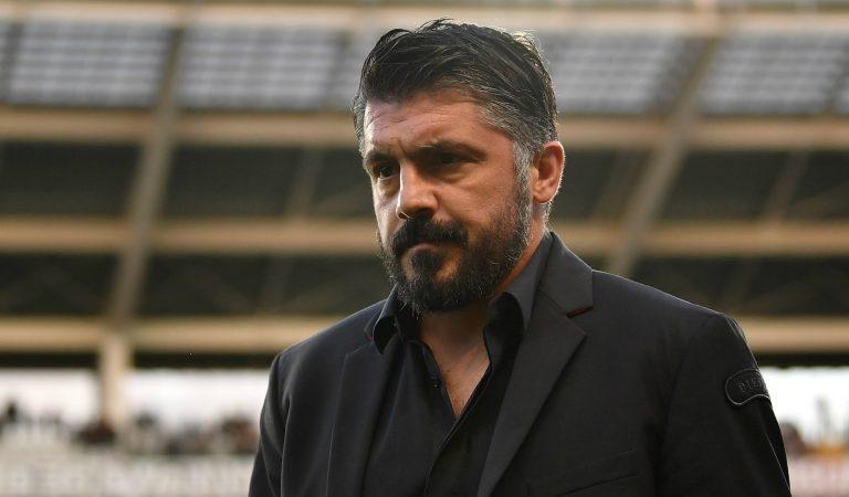 Gennaro Gattuso no seguirá en la dirección técnica del Milán
