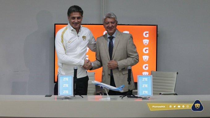 """""""Míchel"""" González, presentado como nuevo DT de Pumas"""