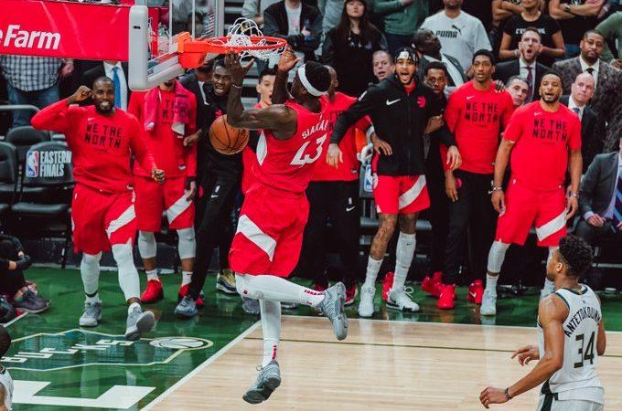Toronto, a un paso de ser campeón del Este en la NBA