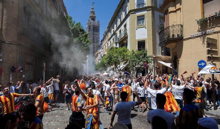 Violencia previo a la Final de la Copa del Rey