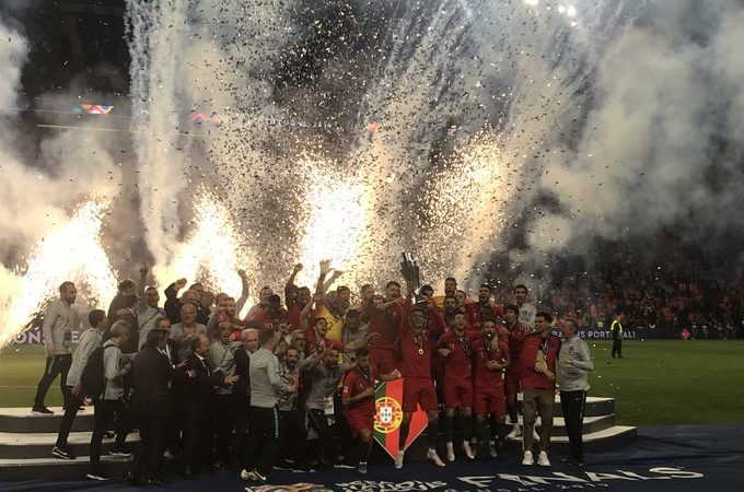 Cristiano y Portugal dominan Europa conquistando la UEFA Nations League