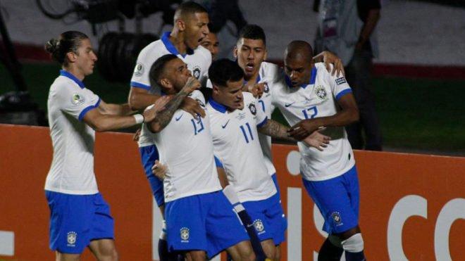 Primer triunfo brasileño en la Copa América