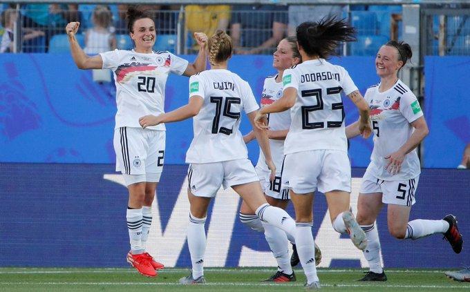 Alemania y Noruega avanzaron a Cuartos de Final del Mundial Femenil