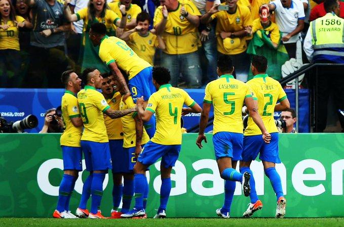 Brasil y Venezuela se adueñan del Grupo A en la Copa América