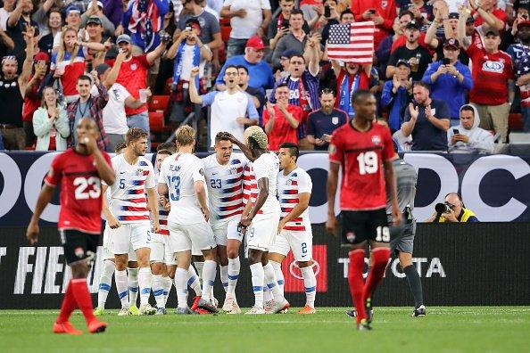 Goleadas de Panamá y Estados Unidos en la Copa Oro