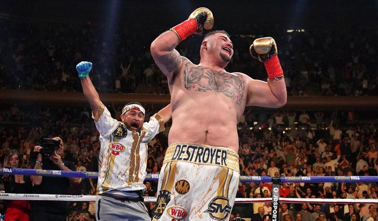 Andy Ruíz hace historia en el boxeo mexicano