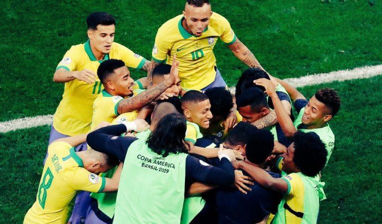 Brasil se impone a penales a Paraguay y es semifinalista de la Copa América