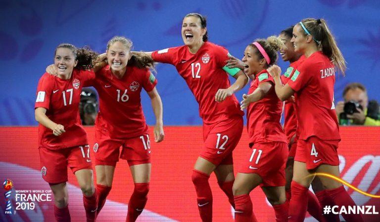 """Canadá """"congela"""" a Nueva Zelanda y se clasifica a octavos en el Mundial Femenil"""