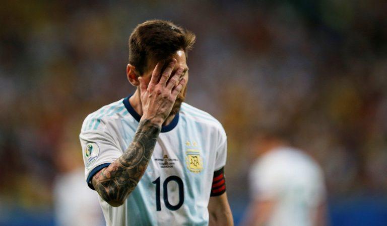 Messi se disculpa con CONMEBOL