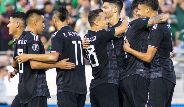 """México derrota a un """"aficionado"""" equipo de Cuba en su debut de Copa Oro"""