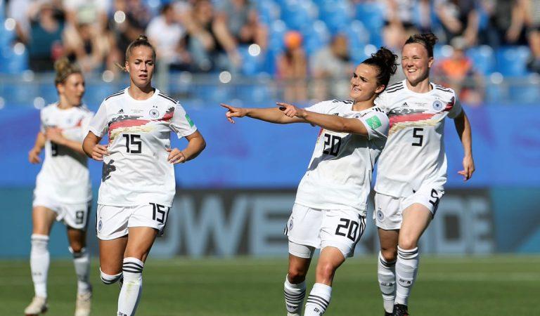 Alemania, España y China avanzan a los octavos de final en el Mundial Femenil 2019
