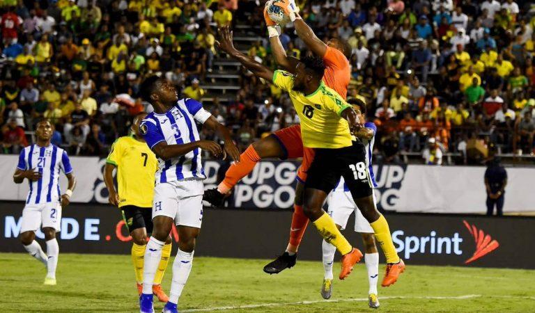 Jamaica sorprende a Honduras en su presentación   de la Copa Oro