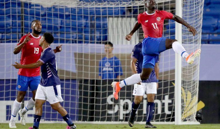 Costa Rica se impone ante Bermuda mientras que Haití sorprende a Nicaragua