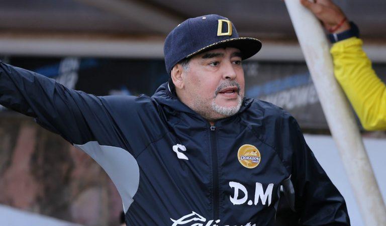 Emotiva despedida de Maradona de Dorados