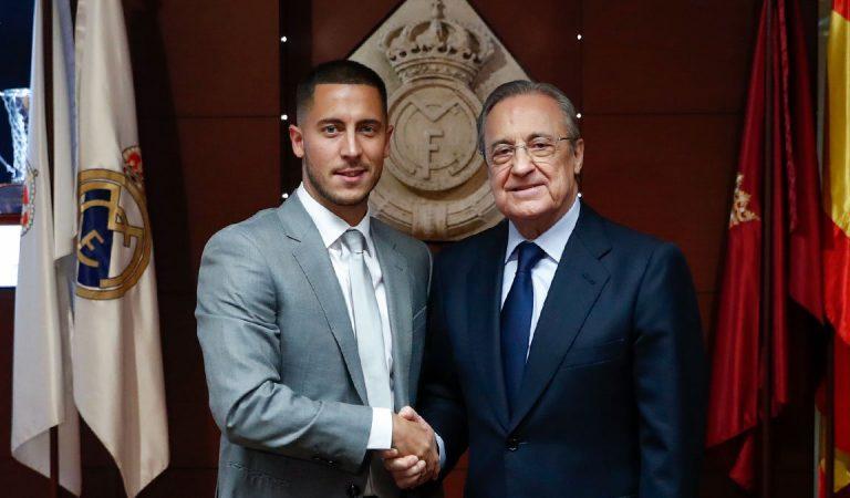 Hazard es baja para el Real Madrid