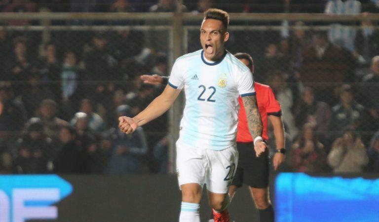 De la mano de Messi y Martínez, Argentina aplasta a Nicaragua