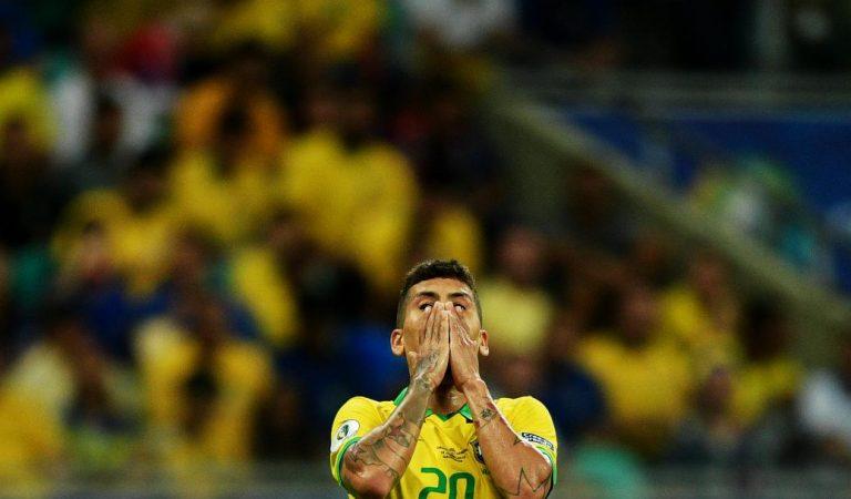 Firmino fue el villano en el empate de Brasil ante Venezuela