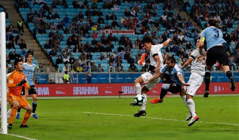 Uruguay y Japón empatan en un trepidante partido
