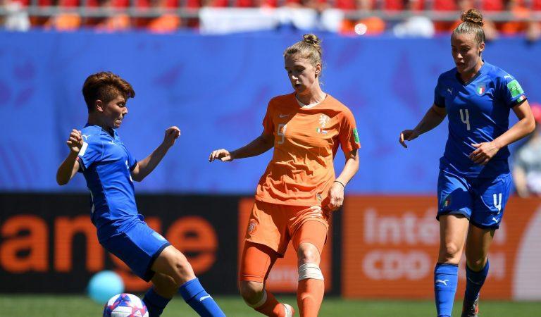 Holanda es semifinalista en el Mundial Femenil tras dejar fuera a Italia