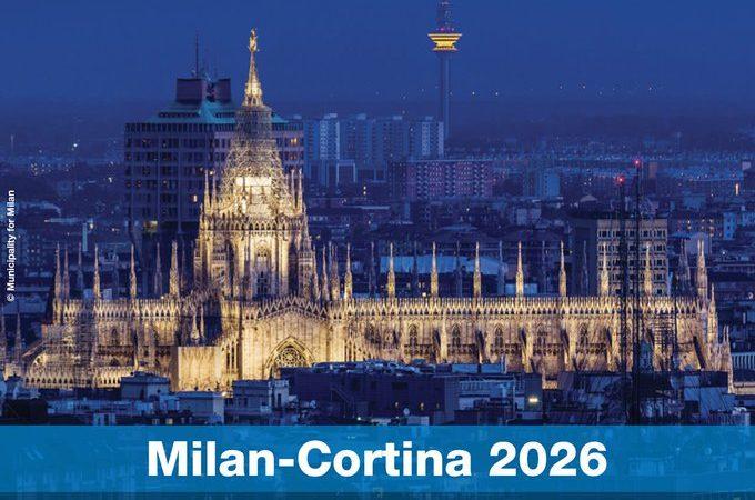 Milán será sede de los Juegos Olímpicos de Invierno