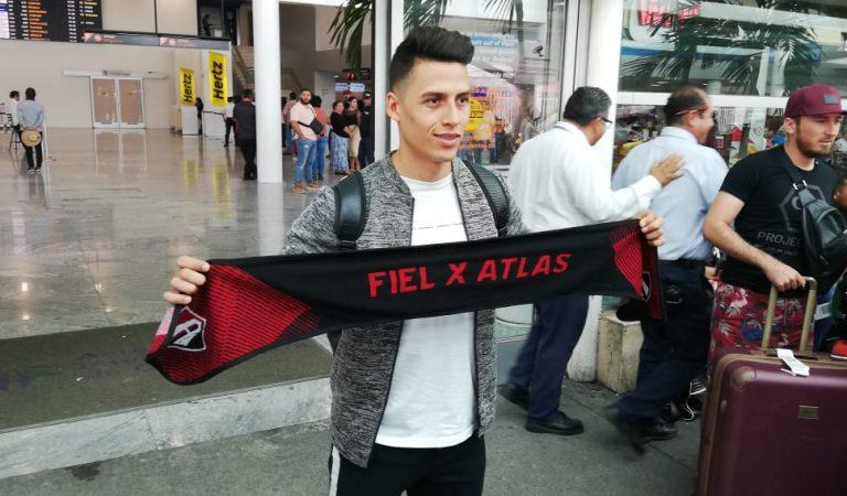 Manuel Balda llega ilusionado al Atlas