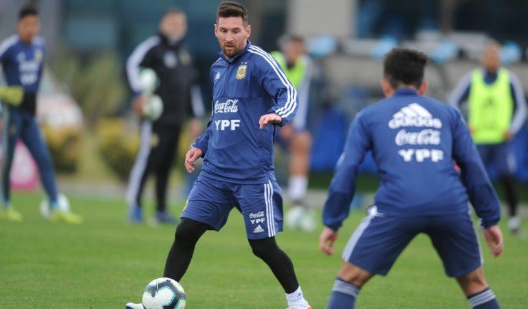 Messi podría reaparecer con Argentina ante un duro rival