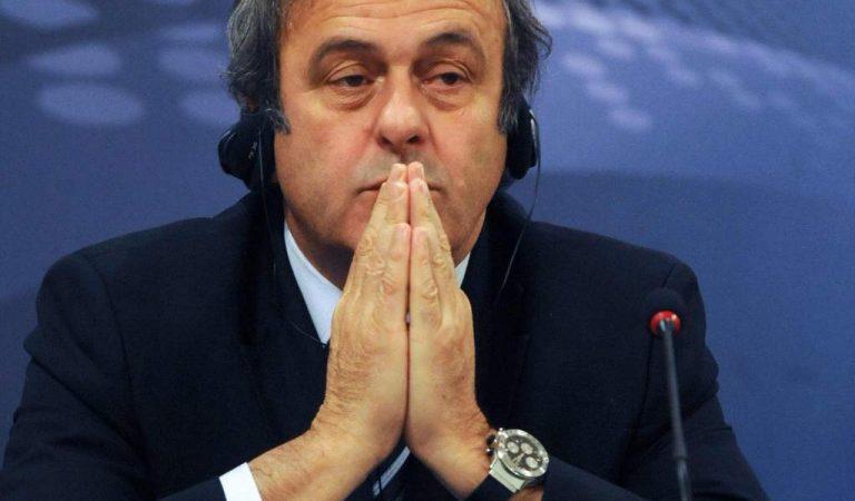 Michel Platini fue puesto en libertad
