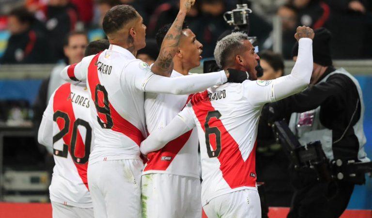 Perú elimina al bicampeón Chile y jugará la final de la Copa América
