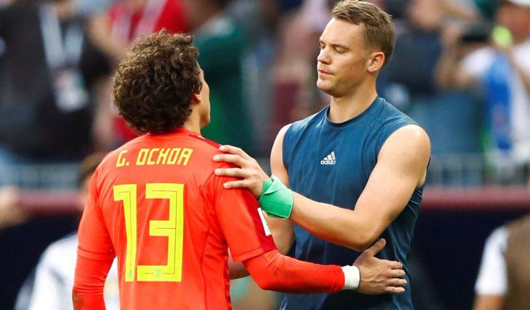 Manuel Neuer habló sobre Guillermo Ochoa
