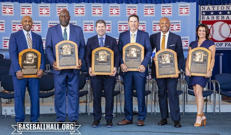 Se llevó a cabo la investidura del Salón de la Fama de la MLB 2019