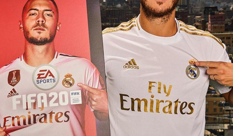 Eden Hazard será la nueva cara del FIFA 2020