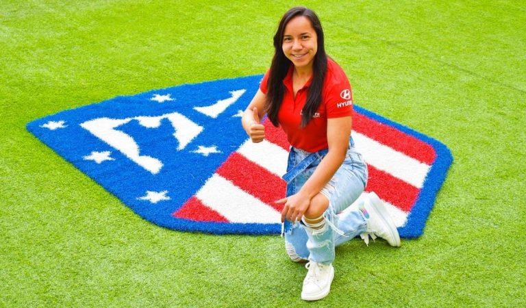 Charlyn Corral jugará en el Atlético de Madrid femenil